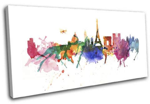 Paris Watercolour Abstract City - 13-6003(00B)-SG21-LO